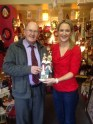 Brian Curran and Helen urging all to shop local this Christmas